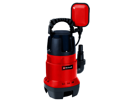 Einhell GC-DP 7835 -Bomba de aguas sucias(780W, capacidad de 15.700 l/h, profundidad max. de inversión 7m, conexión de manguera 47.8mm, cuerpos extraños hasta 35 mm, interruptor de flotador continuo) [Clase de eficiencia energética A]