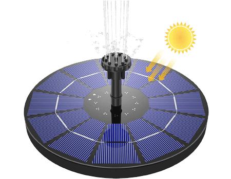 Bomba de agua solar para fuentes AISTIN