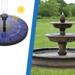 Bombas de agua para fuentes
